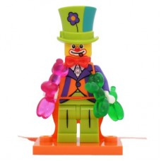 LEGO 71021 col18-4 Party Clown - Complete Set with Stand