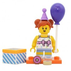 LEGO 71021 col18-6 Birthday Party Girl - Complete Set with Stand