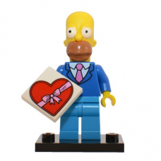 LEGO 71009 Colsim2-1 Homer Simpson with Tie and Jacket - Complete Set