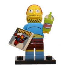 LEGO 71009 Colsim2-7 Comic Book Guy - Complete Set