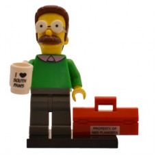 LEGO 71005 Colsim-7 Ned Flanders - Complete Set