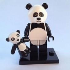 LEGO 71004 coltlm-15 Panda Guy - Complete Set