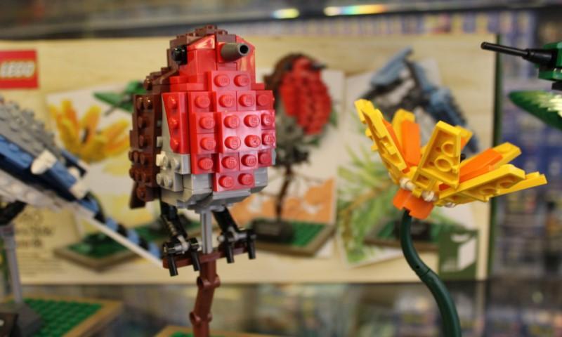 LEGO project Vogel en Bloem