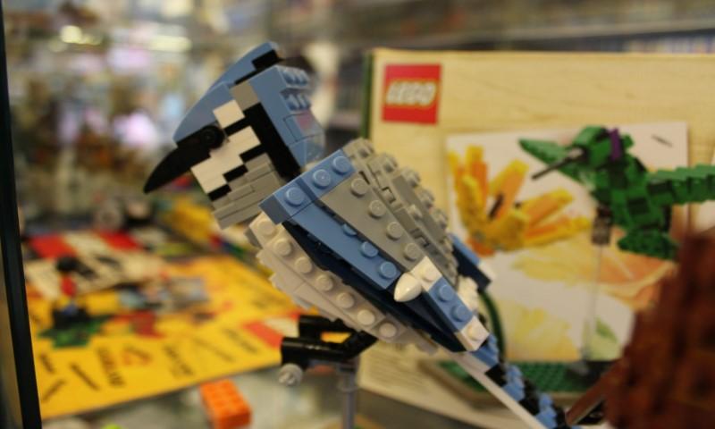 LEGO Ijsvogel