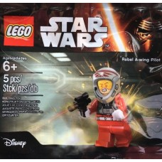 LEGO 5004408 - 6153657 Rebel A-Wing Pilot Complete set