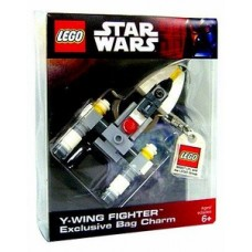LEGO 4520680 Star Wars Y-wing Fighter Key Chain Exclusive Bag Charm 852114 schoudertas of schooltas hanger