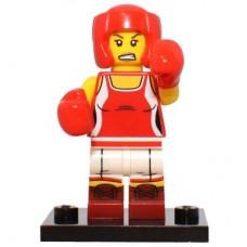 LEGO 71013 Col16-8 Kickboxer Girl - Complete Set