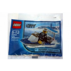 LEGO 30002 Police Boat polybag