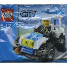 LEGO 30013 Politie Quad