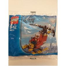 LEGO 30019 Brandweer Helicopter (Polybag)