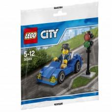 LEGO 30349 Sportauto en Stoplicht Polybag