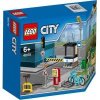 LEGO 40170 City Bouw mijn stad accessoire-set