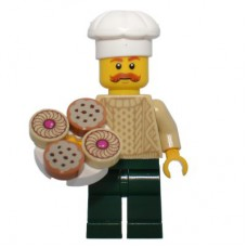 LEGO 60201 Advent Calendar 2018, City (Day 17) - Pastry Vendor