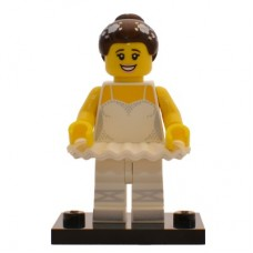 LEGO 71011 col15-10 Ballerina - Complete Set