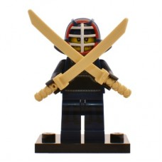 LEGO 71011 col15-12 Kendo Fighter - Complete Set