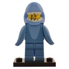 LEGO 71011 col15-13 Shark Suit Guy - Complete Set