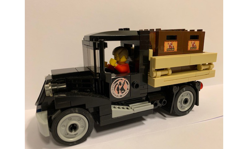 LEGO project sportswagon