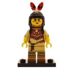 LEGO 71011 col15-5 Tribal Woman - Complete Set