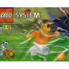 LEGO 3304 Nederlandse Nationale Speler polybag