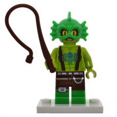 LEGO coltlm2-10 Swamp Creature, The LEGO Movie 2 (Complete Set with Stand and Accessories)