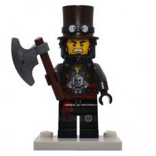 LEGO coltlm2-13 Apocalypseburg Abe, The LEGO Movie 2 (Complete Set with Stand and Accessories)