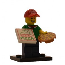 LEGO 71007 col12-11 Pizza Delivery Guy - Complete Set