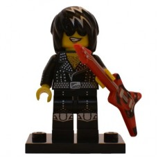LEGO 71007 col12-12 Rock Star - Complete Set