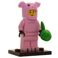 LEGO 71007 col12-14 Piggy -Guy varken - Complete Set