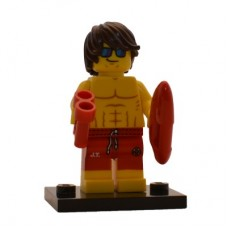 LEGO 71007 col12-7 Lifeguard - Complete Set