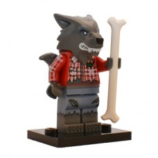 LEGO 71010 col14-1 Wolf Guy - Complete Set