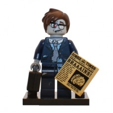 LEGO 71010 col14-13 Zombie Businessman - Complete Set