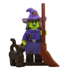 LEGO 71010 col14-4 Wacky Witch - Complete Set