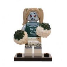 LEGO 71010 col14-8 Zombie Cheerleader - Complete Set