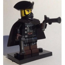 LEGO 71018 Col17-16 Secret Character (Highwayman) - Complete Set with Stand