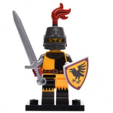 LEGO 71027 Col20-4 Tournament Knight, Series 20 (Complete Set with Stand and Accessories)
