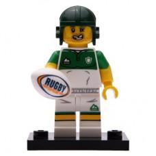 LEGO 71025 Col19-13 Rugbyer Compleet met accessoires