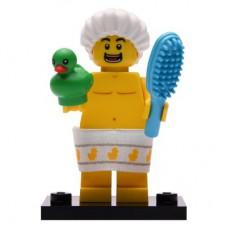 LEGO 71025 Col19-2 Douche Boy Compleet met accessoires