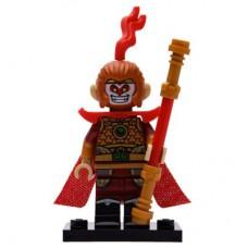 LEGO 71025 Col19-4 Apenkoning Compleet met accessoires