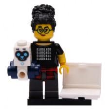 LEGO 71025 Col19-5 Robot Programmeur Compleet met accessoires