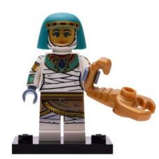 LEGO 71025 Col19-6 Mummie Koningin met Krab Compleet met accessoires