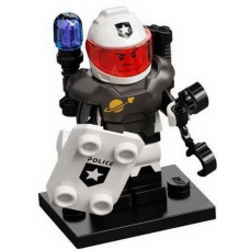 LEGO 71029 Col21-10 Space Police Guy, Series 21 (Complete Set with Stand and Accessories)
