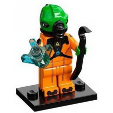 LEGO 71029 Col21-11 Alien, Series 21 (Complete Set with Stand and Accessories)
