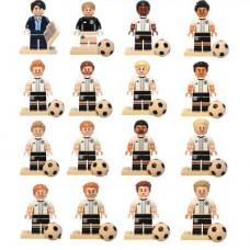 LEGO 71014 Complete Serie Duitse Elftal - Complete Set