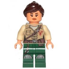 LEGO sw848 Minifigure SW Kordi - Dark Green Legs